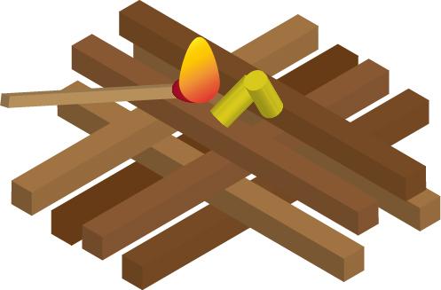 Feuer-mit-Brennholz-entzuenden-2