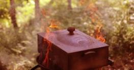 Räuchern mit dem Feuerkorb - Die-idelae-Feuerschale.de