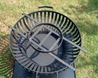 Topfaufsatz für Feuerschale und Feuerkorb